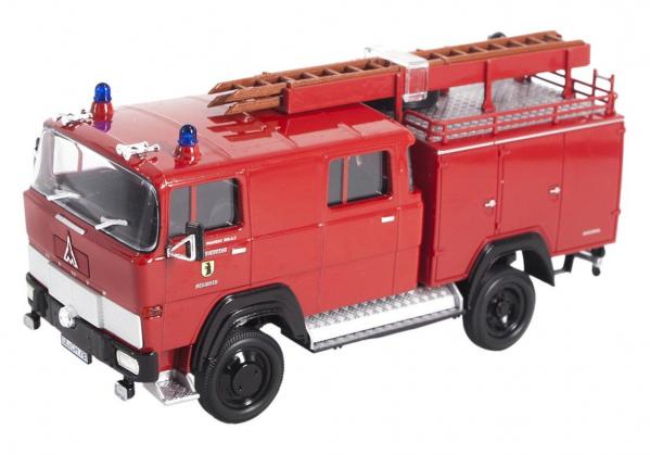 Macheta masina pompieri Magirus 100D 7FA LF8-TS, scara 1:43 0