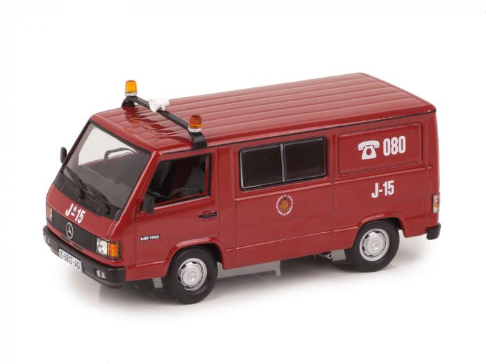 Macheta masina pompieri Mercedes Benz MB180, scara 1:43 [0]