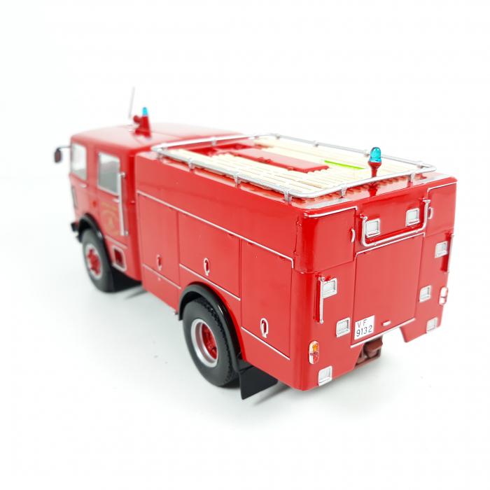 Macheta autospeciala pompieri OM Fiat 150, scara 1:43 [1]