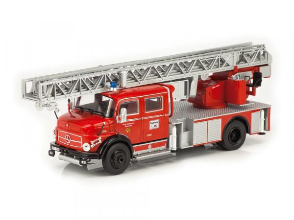 Macheta masina pompieri Mercedes L1113, scara 1:43 0