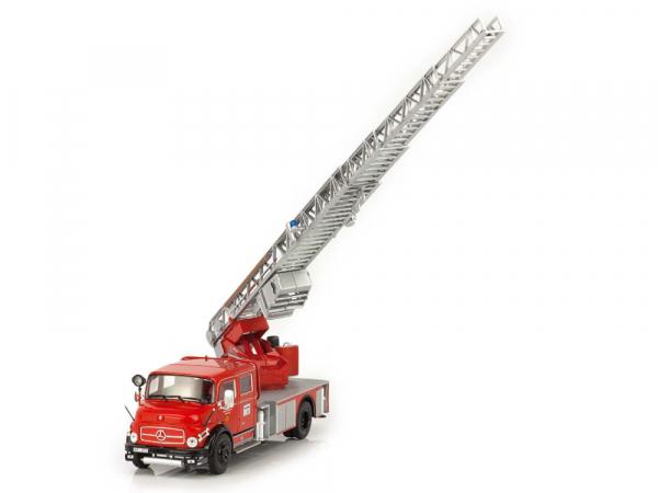 Macheta masina pompieri Mercedes L1113, scara 1:43 2