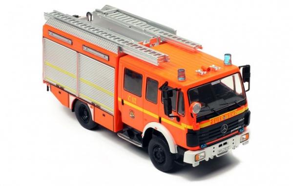 Macheta masina pompieri Mercedes LF12/12, scara 1:43 0
