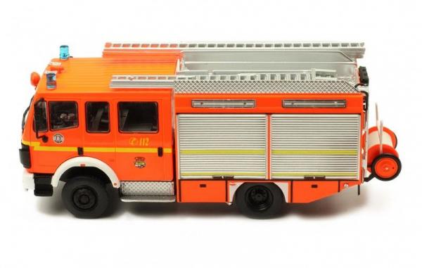 Macheta masina pompieri Mercedes LF12/12, scara 1:43 1