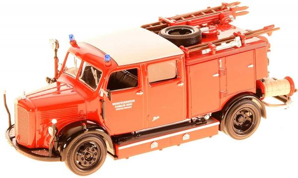 Macheta masina pompieri Mercedes TLF-15, scara 1:43 0