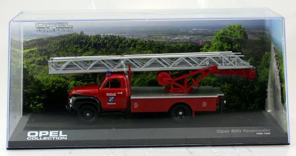 Macheta masina pompieri Opel Blitz, scara 1:43 2
