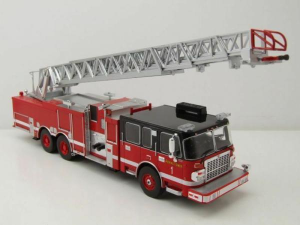 Macheta masina pompieri SMEAL 105, scara 1:43 4