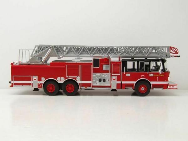 Macheta masina pompieri SMEAL 105, scara 1:43 3