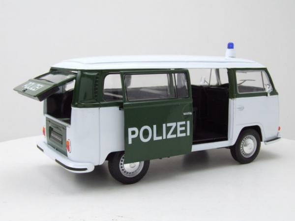 Macheta minibus Volkswagen T2 Polizei, scara 1:24 1