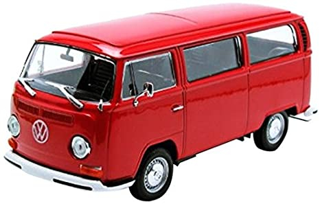 Macheta minibus Volkswagen T2, scara 1:24 0