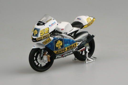 Macheta motocicleta Aprilia RSW 250 LE 2008, 1:18 [0]