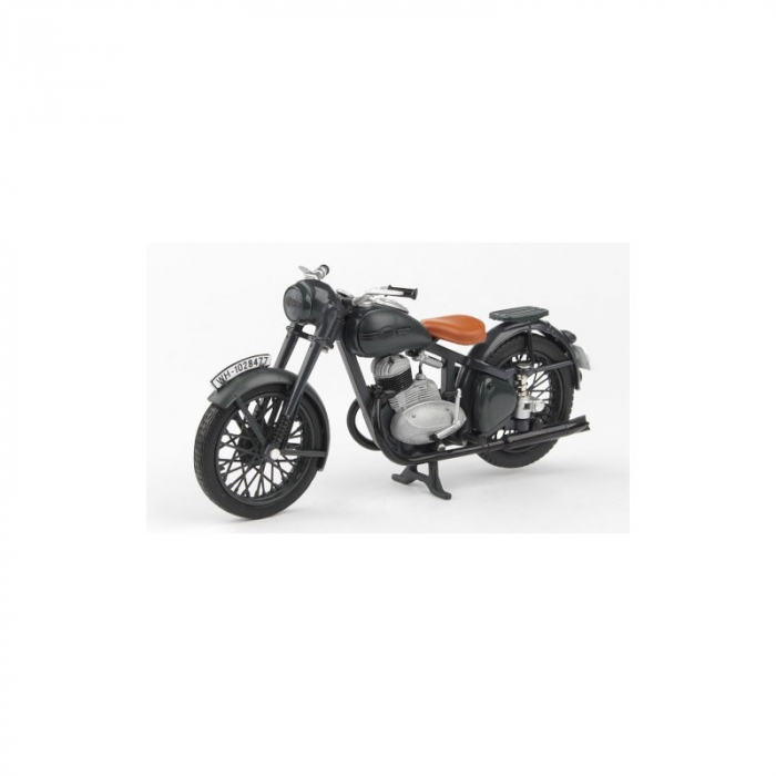 Macheta motocicleta Jawa 250 Perak  Wermacht, scara 1:18 [0]