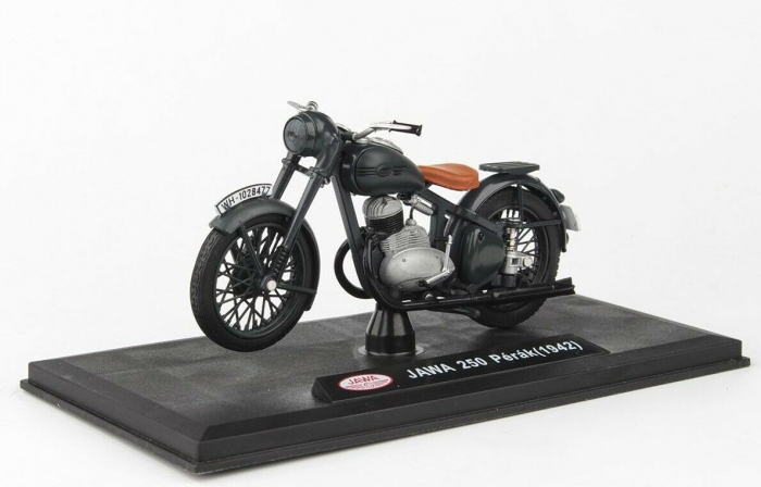 Macheta motocicleta Jawa 250 Perak  Wermacht, scara 1:18 2