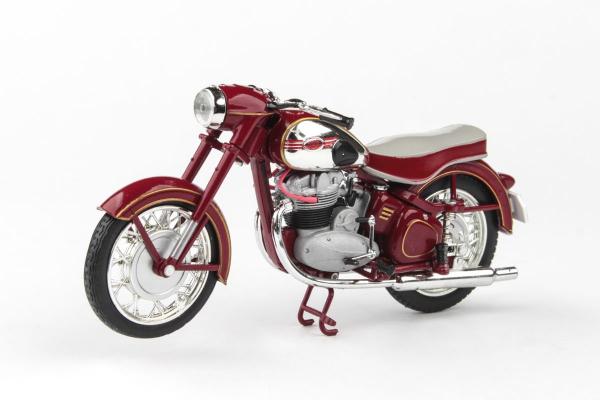 Macheta motocicleta Jawa 500 OHC 1:18 0