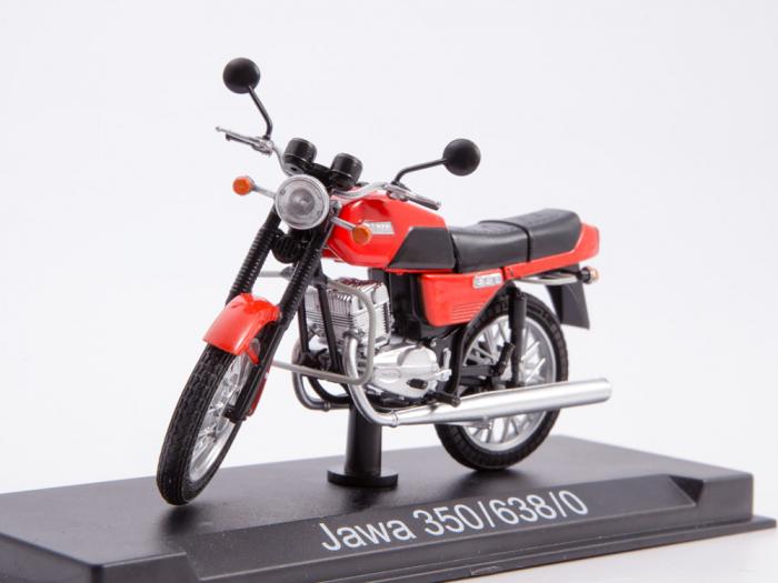 Macheta motocicleta cehoslovaca Java 350/638, scara 1:24 0