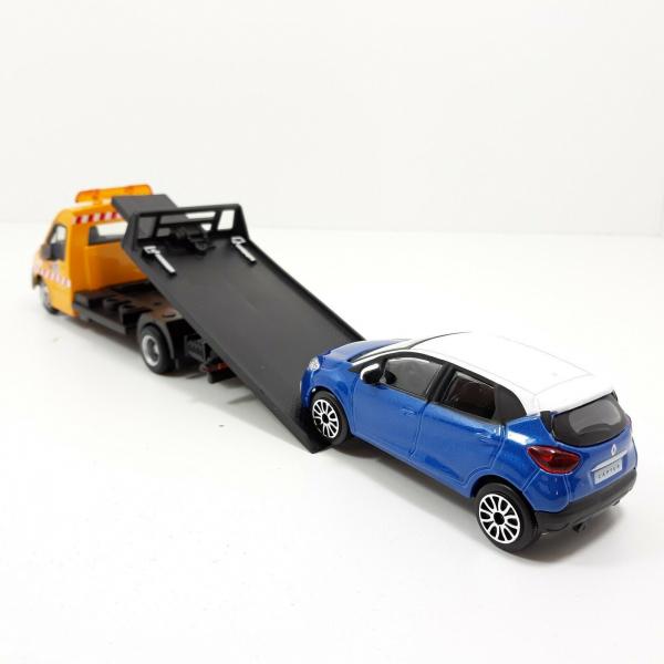 Macheta platforma depanare auto Iveco Daily si Renault Captur, scara 1:43 2