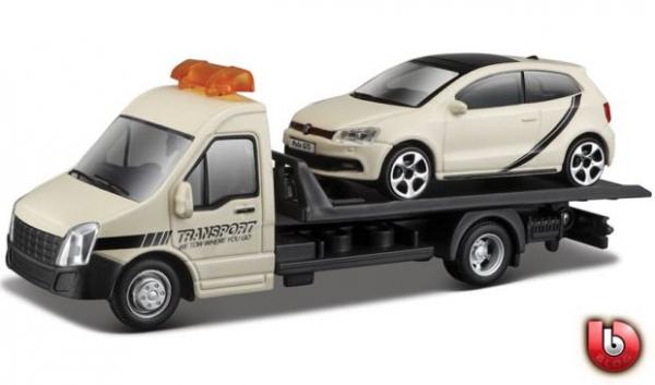 Macheta platforma depanare auto Iveco Daily si Volkswagen Polo, scara 1:43 [0]