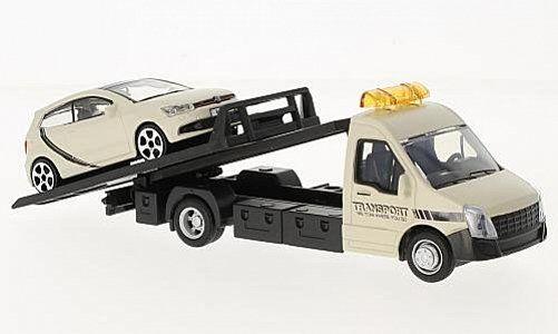 Macheta platforma depanare auto Iveco Daily si Volkswagen Polo, scara 1:43 [1]