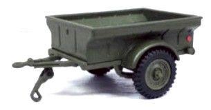Macheta remorca militara 1944, scara 1:43 0