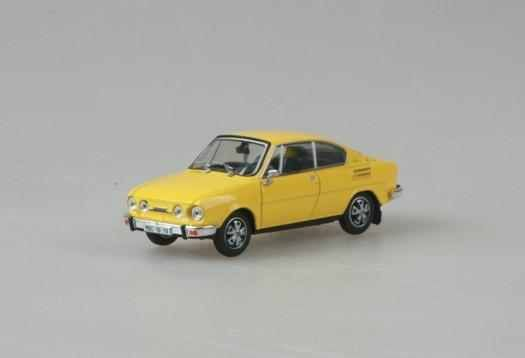 Macheta Skoda 110R Coupe, 1:43 2