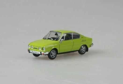 Macheta Skoda 110R Coupe, 1:43 3