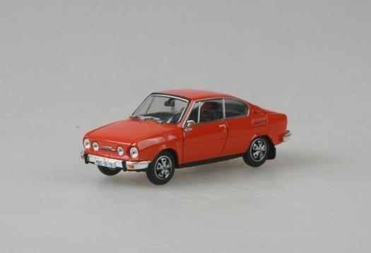 Macheta Skoda 110R Coupe, 1:43 1