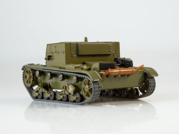 Macheta tanc rusesc AT-1, scara 1:43 1