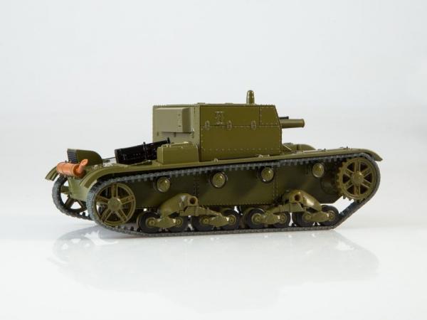 Macheta tanc rusesc AT-1, scara 1:43 3