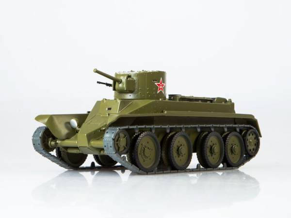 Macheta tanc rusesc BT-2, scara 1:43 0