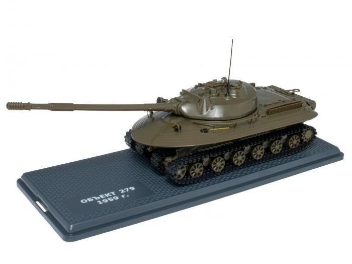 Macheta tanc rusesc Object 279 din 1959, scara 1:43 [0]