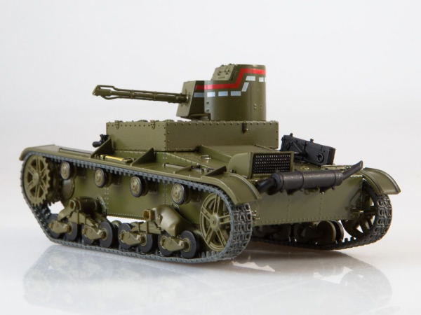 Macheta tanc rusesc HT-26, scara 1:43 3