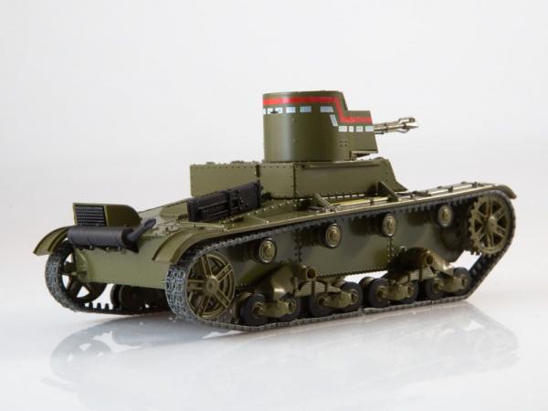 Macheta tanc rusesc HT-26, scara 1:43 2
