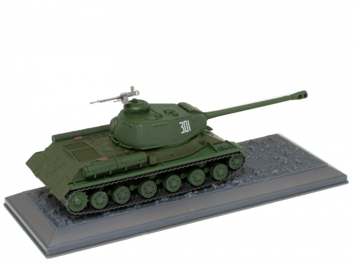 Macheta tanc rusesc IS-2 din 1945, scara 1:43 [1]