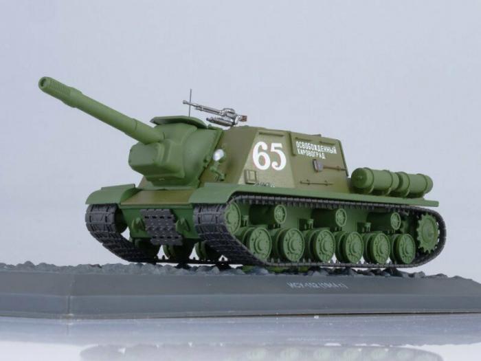 Macheta tanc rusesc ISU-152 din 1944, scara 1:43 [0]