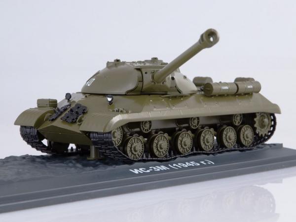 Macheta tanc rusesc IS-3M, scara 1:43 2