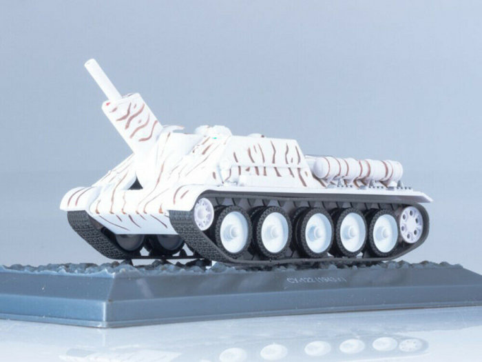 Macheta tanc rusesc SU-122 din 1943, scara 1:43 [0]