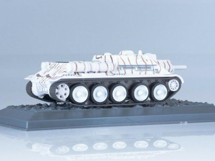 Macheta tanc rusesc SU-122 din 1943, scara 1:43 [2]