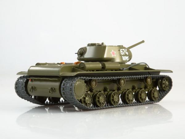 Macheta tanc rusesc KV-1S, scara 1:43 1