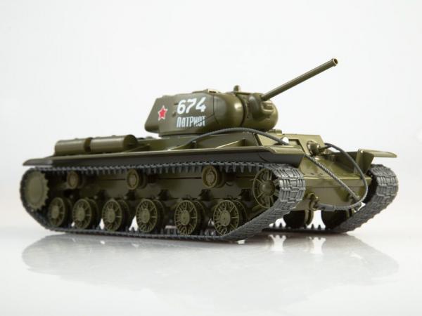 Macheta tanc rusesc KV-1S, scara 1:43 0