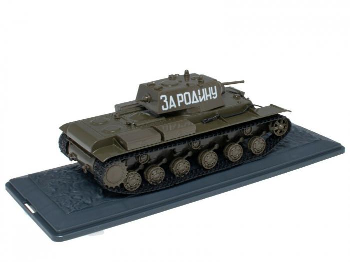 Macheta tanc rusesc KV-1, scara 1:43 [1]