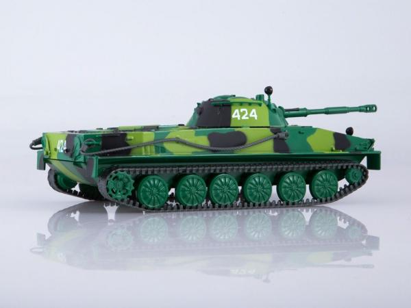 Macheta tanc rusesc PT-76, scara 1:43 [1]
