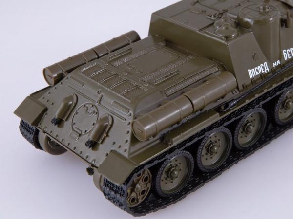 Macheta tanc rusesc SU-100, scara 1:43 3