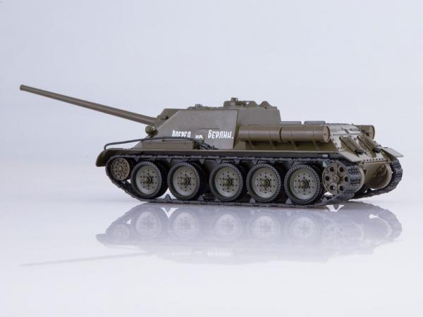 Macheta tanc rusesc SU-100, scara 1:43 1