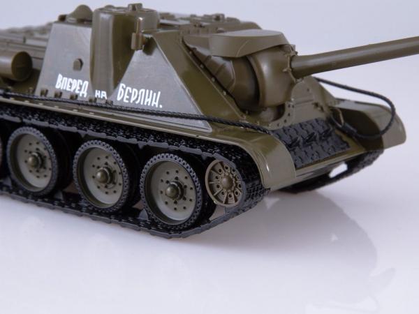 Macheta tanc rusesc SU-100, scara 1:43 4