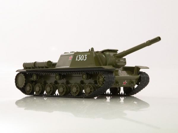 Macheta tanc rusesc SU-152, scara 1:43 1