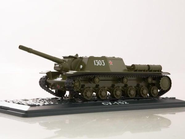 Macheta tanc rusesc SU-152, scara 1:43 3