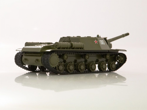 Macheta tanc rusesc SU-152, scara 1:43 2