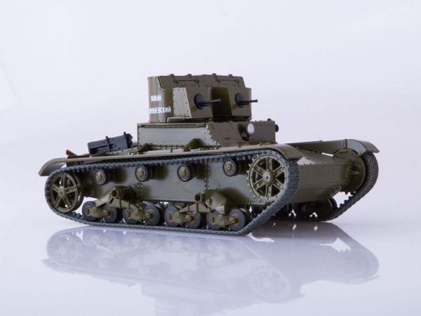 Macheta tanc rusesc T-26 1931, scara 1:43 [2]