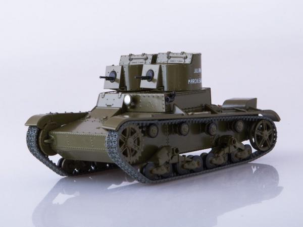 Macheta tanc rusesc T-26 1931, scara 1:43 [0]