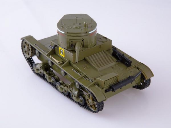 Macheta tanc rusesc T-26 1933, scara 1:43 3