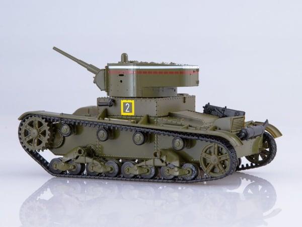 Macheta tanc rusesc T-26 1933, scara 1:43 1